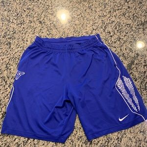 Rare Kobe Bryant Dri fit shorts
